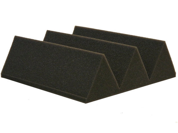 "Acoustic Foam 12 Pack Kit - Wedge 4"" 24"" x 24"" covers 48sq Ft - SoundProofing/Blocking/Absorbing Acoustical Foam - Made in the USA!"