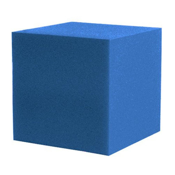 "2 Pc Corner Fill Soundproofing Acoustical Foam 12""x12""x12"" Corner Fill Cube (2 Pc.) Blue"