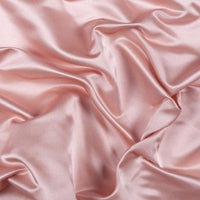 "5 yards BLUSH PINK Charmeuse Satin Fabric 60"" wide By the Yard for wedding dresses, decorations, drapes, crafts"