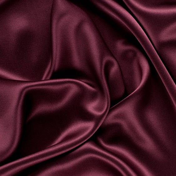"5 yards BURGUNDY Charmeuse Satin Fabric 60"" wide By the Yard for wedding dresses, decorations, drapes, crafts"