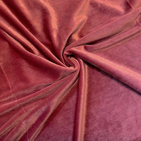 Stretch Velvet Fabric Dusty Rose Fabric Velvet Fabric By The Yard Sewing Fabric