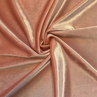 Stretch Velvet Fabric Peach Fabric Velvet Fabric By The Yard Sewing Fabric