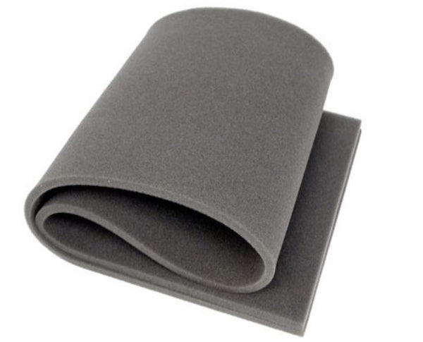 "Professional Acoustics Foam 1/2"" x24""x82"" Upholstery Rubber Foam Sheet Cushion ("