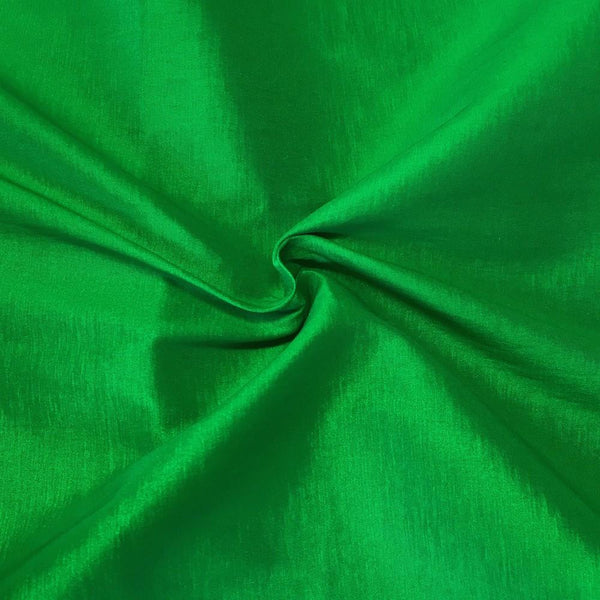 "Taffeta Stretch Fabric 2-Way Stretch 58"" Wide By The Yard (GREEN)"