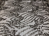4 Way Stretch Sequins Fabric By Yard Nude Skin Embroidered Mesh Dress Fashion