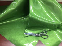 "VINYL FAUX FAKE LEATHER UPHOLSTERY SPARKLE GLITTER FABRIC SOLD YARD 54"" LIME"