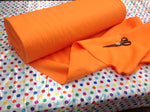 "Solid Acrylic Felt Fabric - TANGERINE - Sold By The Yard - 72"" Width"