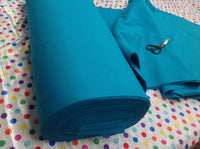 "Solid Acrylic Felt Fabric - NEW TURQUOISE - Sold By The Yard - 72"" Width"
