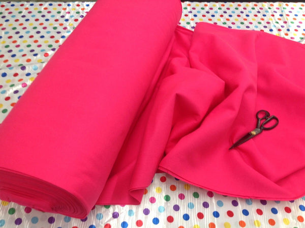 "Solid Acrylic Felt Fabric - NEW FUCHSIA - Sold By The Yard - 72"" Width"