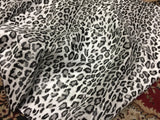 "VINYL FAUX FAKE LEATHER PLEATHER EMBOSSED LEOPARD FABRIC- 54"" WIDTH"