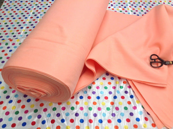 "Solid Acrylic Felt Fabric - NEW PEACH - Sold By The Yard - 72"" Width"