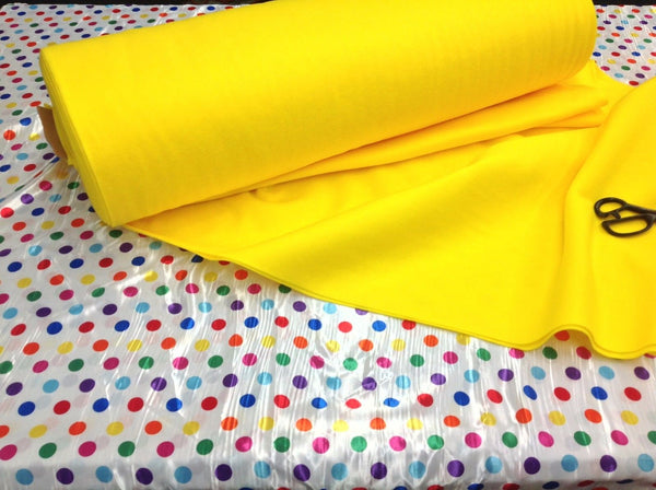 "Solid Acrylic Felt Fabric -NEW MANGO - Sold By The Yard - 72"" Width"