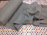 "Solid Acrylic Felt Fabric - HEATHER GRAY - Sold By The Yard - 72"" Width"