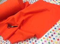 "Solid Acrylic Felt Fabric -NEW ORANGE - Sold By The Yard - 72"" Width"