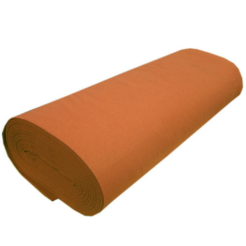 "Solid Acrylic Felt Fabric -RUST - Sold By The Bolt - 72"" Width ( 20 yards )"