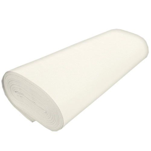 "Solid Acrylic Felt Fabric -IVORY - Sold By The Bolt - 72"" Width ( 20 yards )"