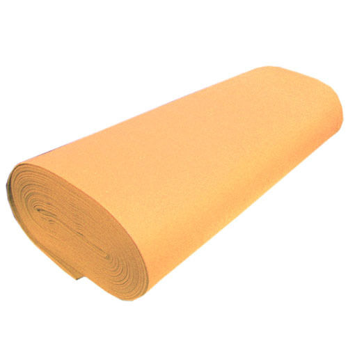 "Solid Acrylic Felt Fabric -CAMEL - Sold By The Yard - 72"" Width"