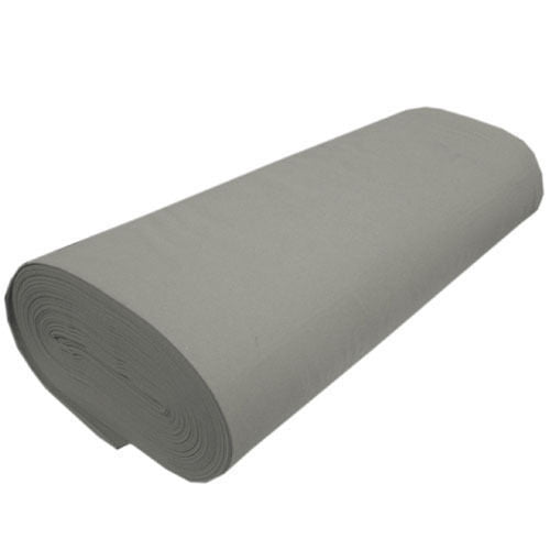 "Solid Acrylic Felt Fabric -SILVER - Sold By The Yard - 72"" Width"