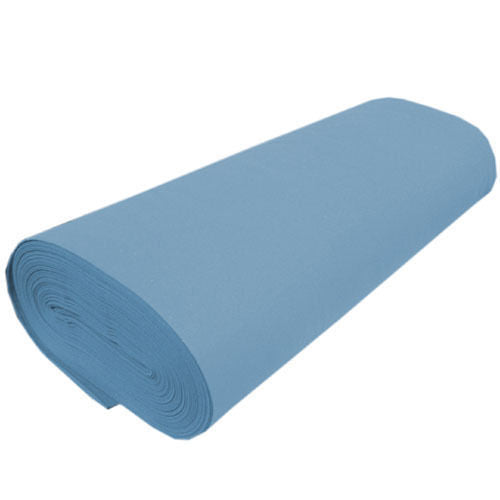 "Solid Acrylic Felt Fabric -LIGHT BLUE - Sold By The Yard - 72"" Width"