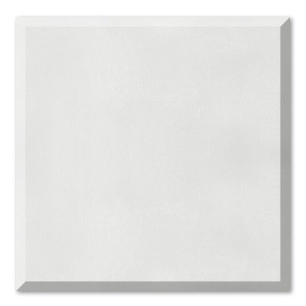 "ACOUSTIC BEVEL ABSORPTION FOAM, 2"" X 24"" X 24"", 12-PANELS, WHITE"