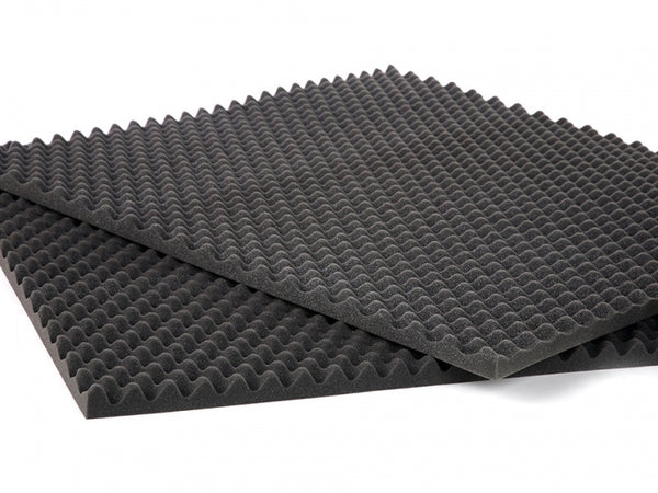 2 PACK Egg Crate Soundproofing Acoustic Foam Tiles Wall Panels 24 X 12 X 2