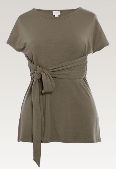 Alia Top - Dusty Olive