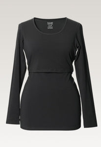 Classic Long Sleeved Shirt - Black