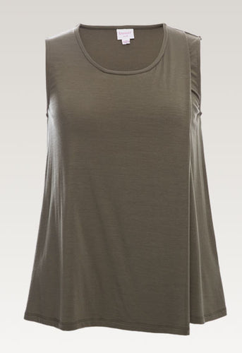 Ilse Top - Dusty Olive
