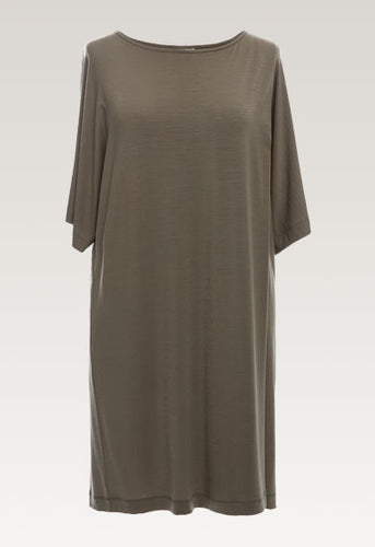 Ilse Dress - Dusty Olive