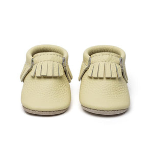 Baby Moccasins - Lemon Drop