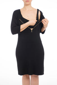 The Melly Dress - Black
