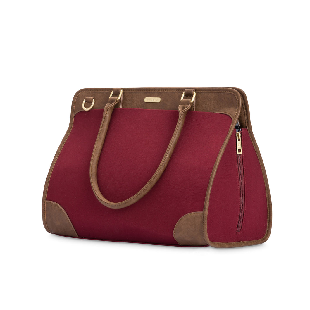 Manifest Weekender Diaper Bag - Pomegranate
