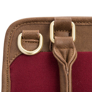 Petite Manifest Diaper Bag - Pomegranate