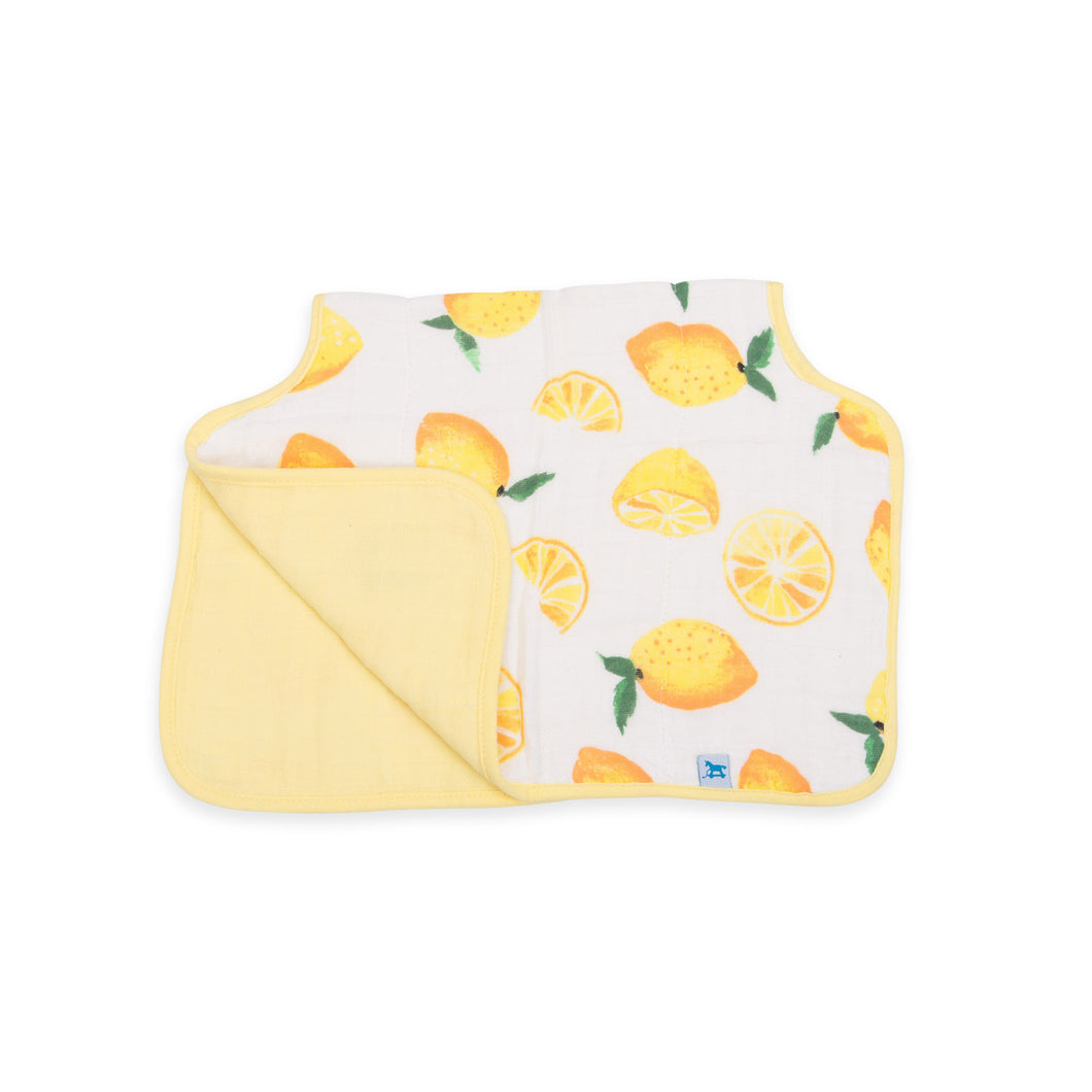 Muslin Burp Cloth - Lemon