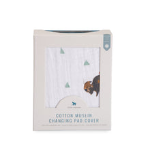 Cotton Changing Pad Cover - Bison