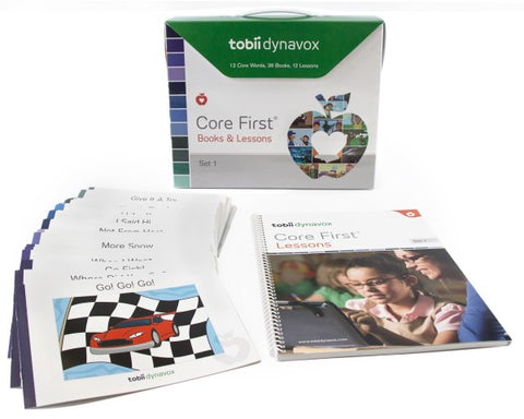 Tobii Dynavox Core First Books & Lessons – Set 1