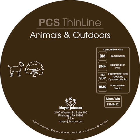 PCS ThinLine: Animals & Outdoors