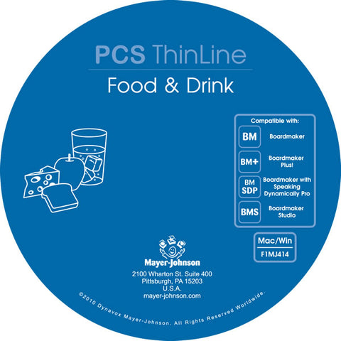 PCS ThinLine: Food & Drink