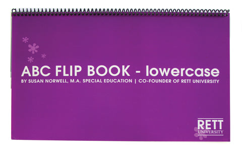 Rett University Communication Flip Book