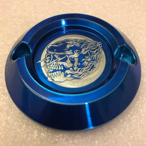 Icon Logo - Transparent Candy Blue Milwaukee Eight Points Cover