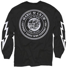 Logo Tee Long Sleeve - Black