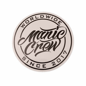 Manic Crew Worldwide Sticker