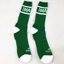 Manic Crew Classic Active Crew Socks - Irish Green