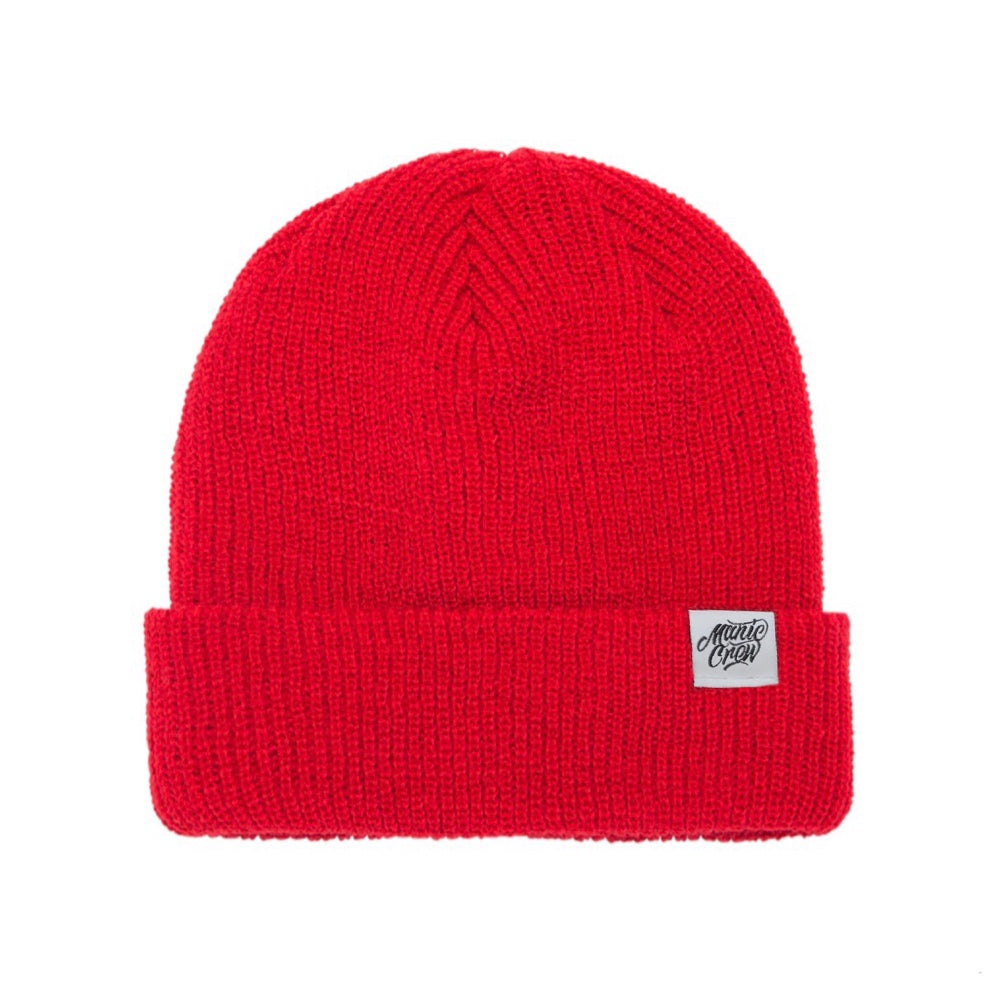 THE CREW BEANIE - RED