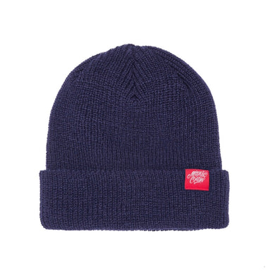 THE CREW BEANIE - NAVY