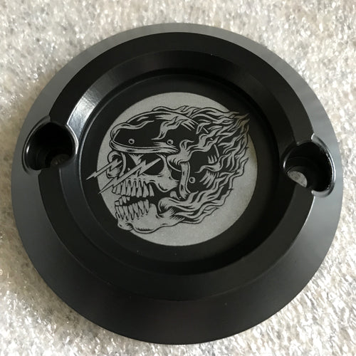 Icon Logo - Graphite Black Milwaukee Eight Points Cover