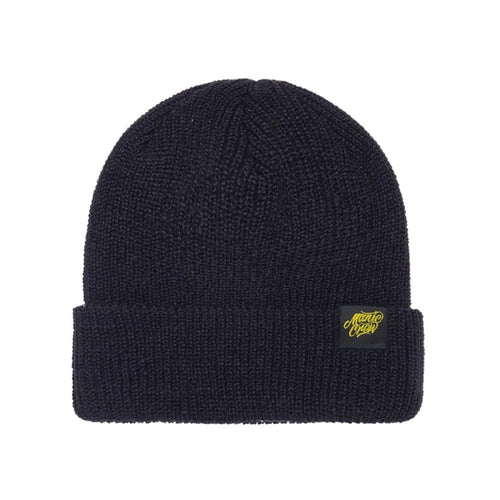 THE CREW BEANIE - BLACK