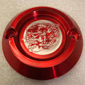 Icon Logo - Transparent Candy Red Milwaukee Eight Points Cover