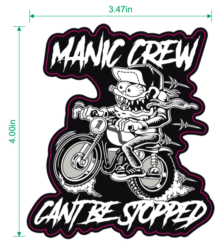 2020 CANT BE STOPPED STICKER
