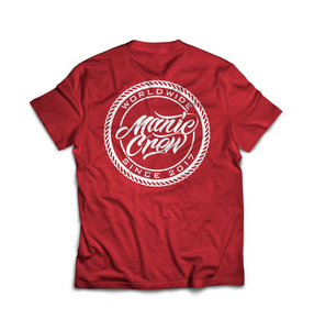WORLDWIDE TEE - RED
